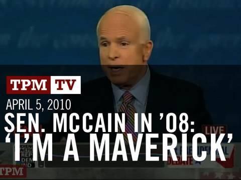 John McCain: Maverick?